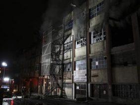 Bayrampaşa'da Yangın