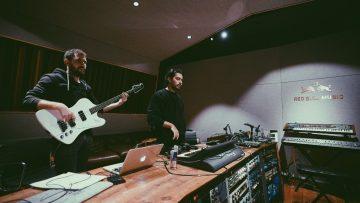 'Affet Robot' Amsterdam Red Bull Music stüdyosunda kayıtta