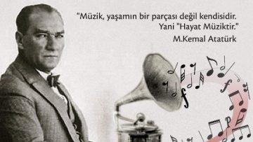 Ataşehir'de Atatürk sevdiği şarkılarla anılacak