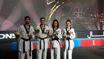 Taekwondo Milli Takımı dünya ikincisi oldu