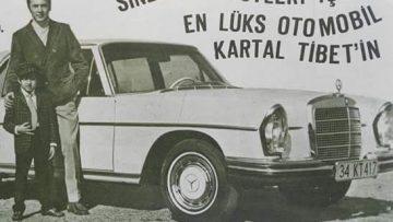 Kartal Tibet'in ünlü otomobili bulundu
