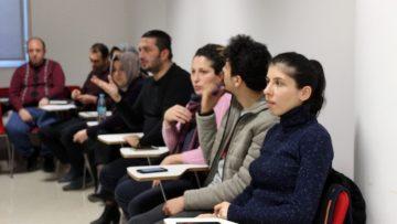 (Özel) İSKİ'den çalışanlarına işaret dili eğitimi