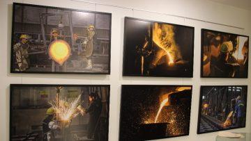 Sanayideki sanat fotoğraf karelerine yansıdı