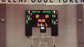 Bağcılarlı Engelli Basketçiler, Galatasaray'ı devirdi