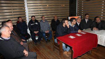 """Başkan Adayı Üner:""""Çatalca organize tarım ile kalkınacak"""""""