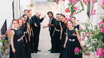 Flamenko Şarkıcısı Arcngel ve Yeni Bulgar Sesleri Korosu Estruna,  Al Este del Cante ile CRR'de