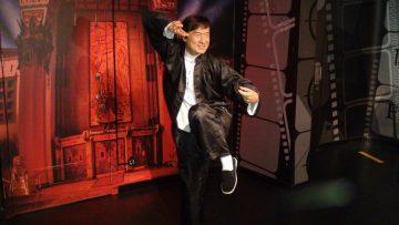 Jackie Chan'in balmumu heykeli Madame Tussauds'da