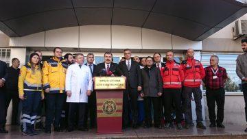 """Sağlık Bakanı  Bakanı Fahrettin Koca: """" Minik Havva'ın sağ bacağına müdahale edildi"""""""