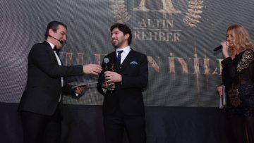 Yunus Çekiç'e 'Yılın En Başarılı Psikoloğu' ödülü