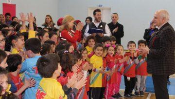 Çocuk Atletizmi Projesi 3. kez Gümüşhane'de organize edildi