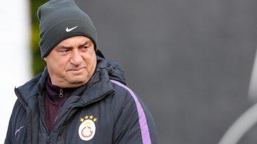 Galatasaray'da Mbaye Diagne, özel program dahilinde ile çalıştı