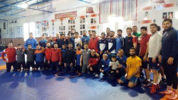 Grekoromen Güreş Milli Takımı, Avrupa Şampiyonası için kampa girdi