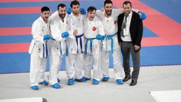 Milli karateciler üst üste üçüncü kez Avrupa şampiyonu oldu