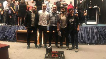 'Robocon 2019'un şampiyonu: Bayrampaşa Belediyesi Bilim Merkezi