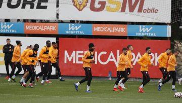 Galatasaray taktik çalıştı